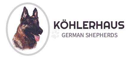 Köhlerhaus German Shepherds Logo